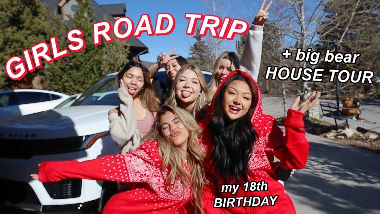 GIRLS ROAD TRIP TO BIG BEAR: 18th birthday, target, house tour | VLOGMAS DAY 4