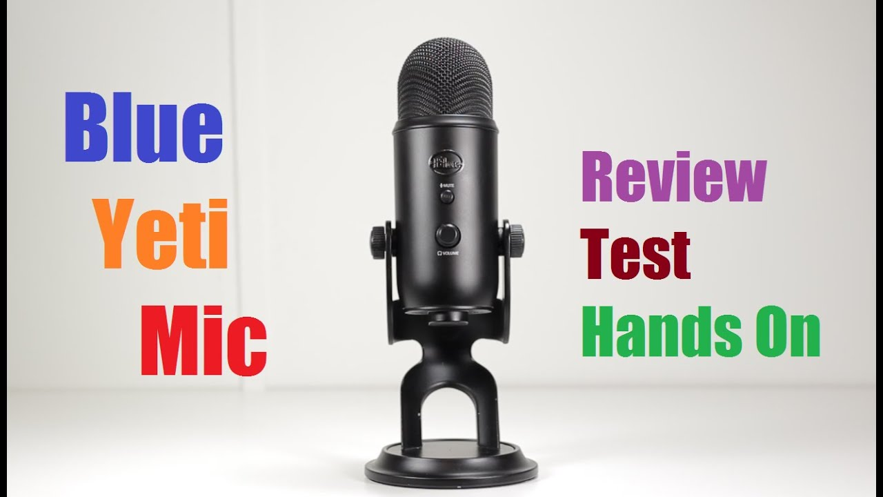 Blue Yeti Microphone Review & Test