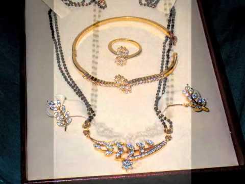 22 Carat Gold Black beads (nallapusalu, mangalsutra) Jewellery Designs
