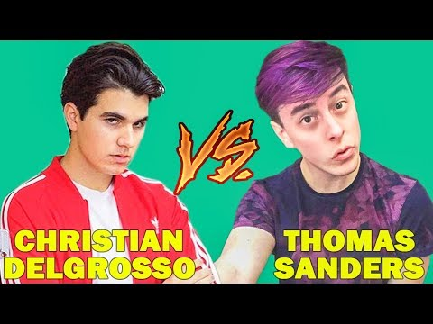 Christian DelGrosso Vines Vs Thomas Sanders Vines (W/Titles) Best Vine Compilation 2017