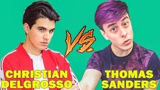 Christian DelGrosso Vines Vs Thomas Sanders Vines (W/Titles) Best Vine Compilation 2017 thumbnail