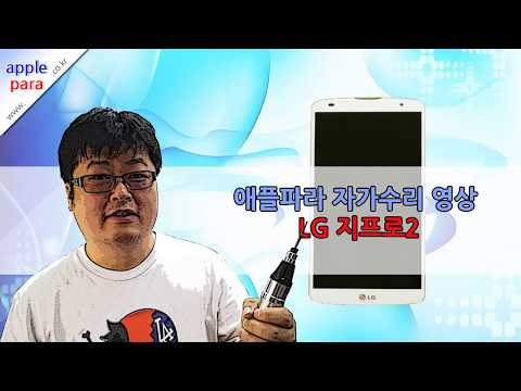 lg지프로2액정수리(lg gpro2 lcd screen repair self)도전