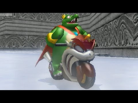 Mario Kart Wii - 150cc Boomerang Cup Grand Prix (King K Rool Gameplay)