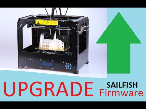 Install sailfish to CTC printer and other Makerbot clones