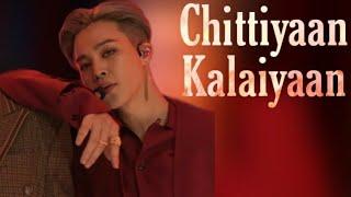 Park Jimin~Chittiyaan Kalaiyaan | BTS Jimin Hindi Song Mix | YoonMinSeok Hindi FMV