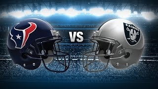 2017 NFL Houston Texans Vs. Oakland Raiders Wild Card Playoff Predictions & Preview | The Sports Box
