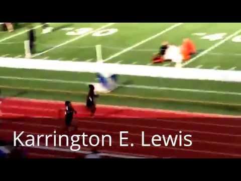 2016 Van Alstyne Inv  100m Dash   Karrington Lewis