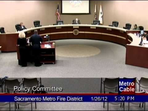 01/26/12 - Policy Committee - Metro Fire