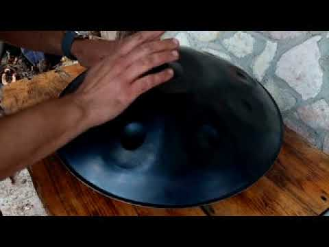 Handpan tuned to AnnaZiska scale - 9 tone C# - Contact us on info@balkanpan.com