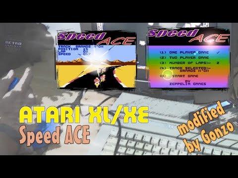 Atari XL/XE -=Speed Ace=- modified