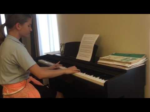 Ilinca Vilceanu (2017) playing 'Far and Away' by Philip Wesley