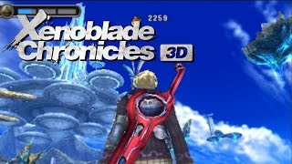 Xenoblade Chronicles 3D Combat Gameplay