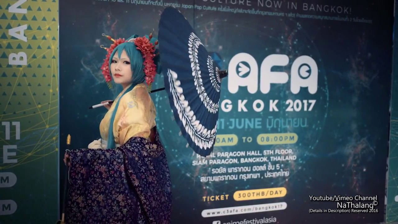 Vimeo Only Cosplay C3 Anime Festival Asia 2017 Royal Paragon Hall
