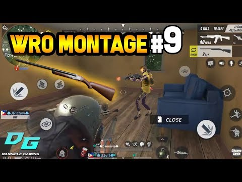 Rules of Survival: WRO Montage #9 | Mobile Gameplay