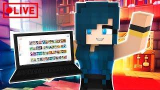 CRAZY MINECRAFT BEDWARS!! | Minecraft Livestream 😈