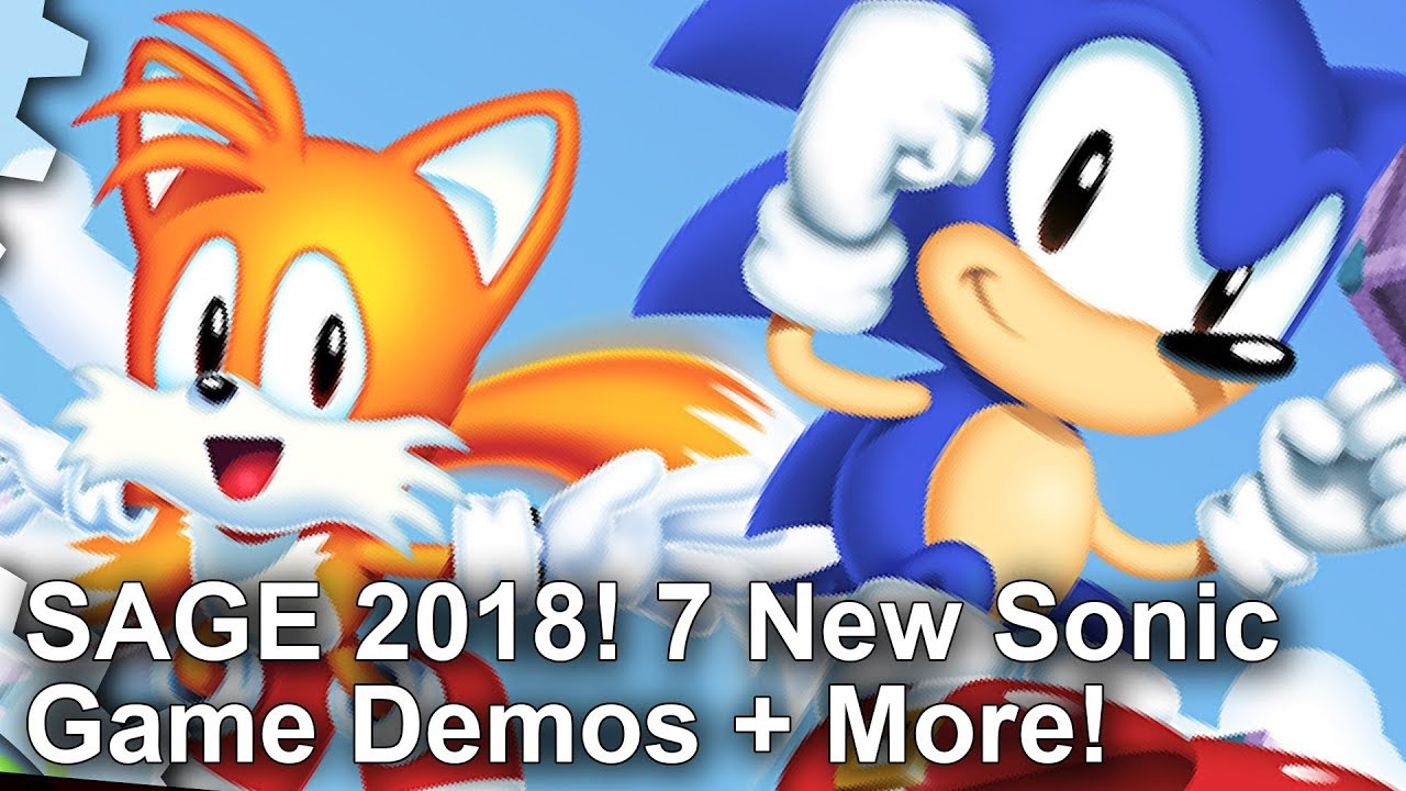 Sonic X-Treme and Sonic Chaos remakes are the highlights of SAGE