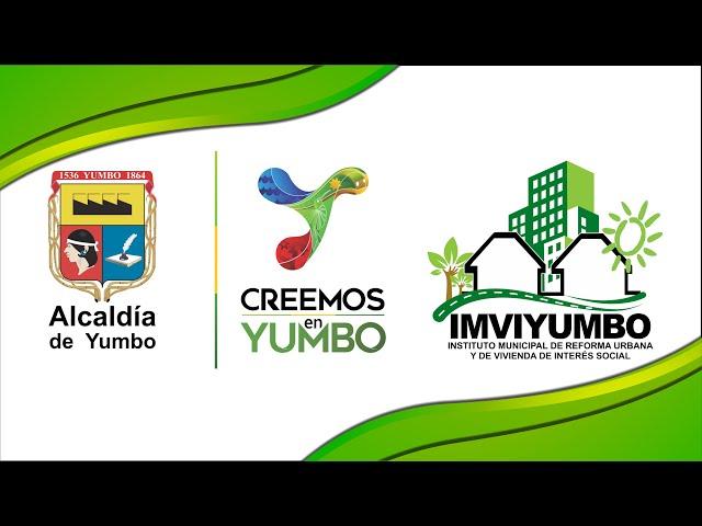 #CreemosEnYumbo con más espacios para la gente.