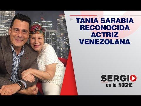 Sergio en la noche hoy con Tania Sarabia, con quien no pararás de reírte con sus ocurrencias