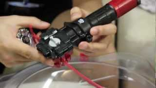 beyblade zero g launcher grip bbg 07 unboxing and review