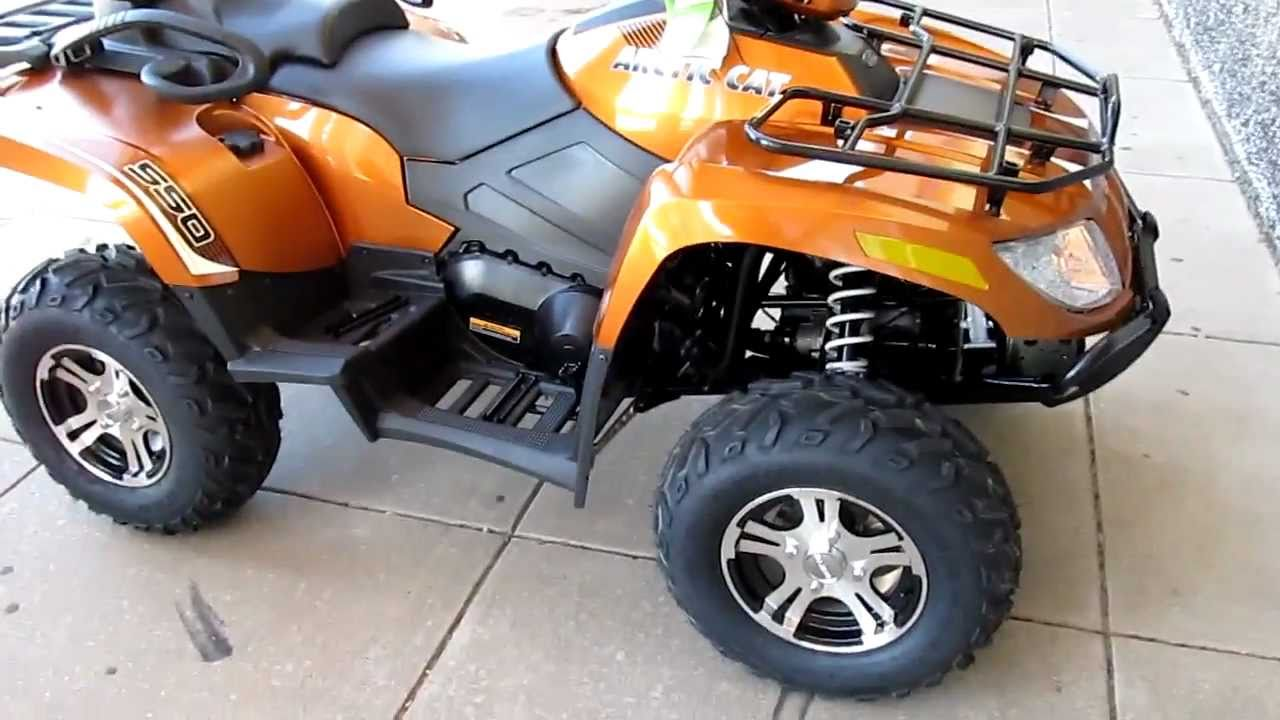 2011 Arctic Cat Trv 550 Power Steering Two Up Luxury