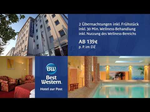 Bremen Best Western Hotel zur Post, Wellnesshotel Bremenstadt, Tagungshotel Bremen Zentrum