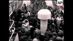 MAYOR OF GORKI LEAVES LONDON AND VISITS MARGATE - NO SOUND
