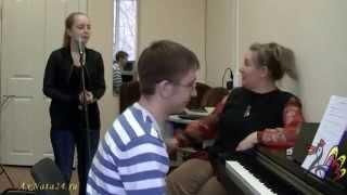 Урок вокала.Распевка на азербайджанской мелодии с элементами мелизматики