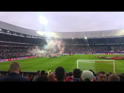 Feyenoord - FCZorya Luhansk Opkomst