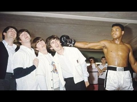 Jeff K - On This Day In 1964 The Beatles Meet Cassius Clay