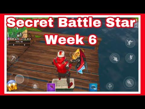 Season X-Week 6 The Return. Secret Battle Star.