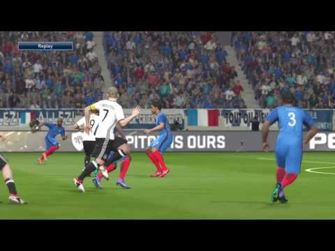France V Germany Euro 2016 Gameplay