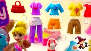 Juegos de Vestir Maletín de Moda de Polly Pocket thumbnail