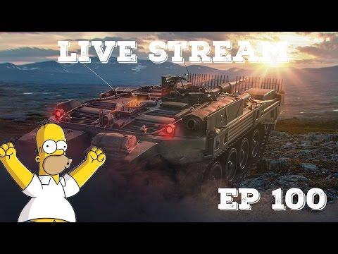 World of Tanks - Live Stream #100 Špešl - Vod/Trening sa gledaocima