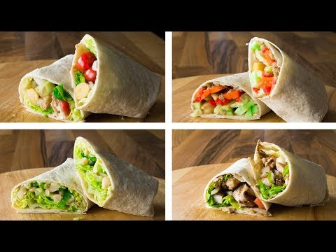4 Healthy Tortilla Wraps Recipe