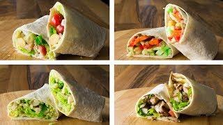 4 healthy tortilla wraps recipe