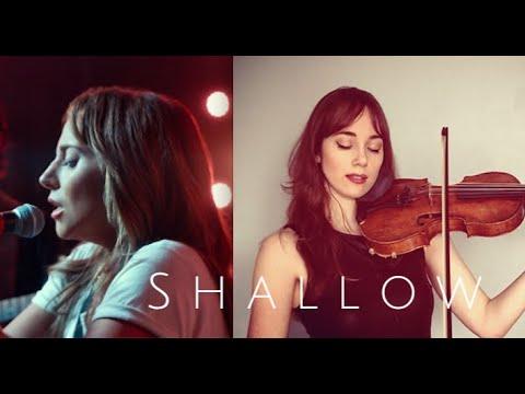 """SHALLOW"" (A Star is Born) - Lady Gaga & Bradley Cooper - instrumental violin cover + sheet music!"