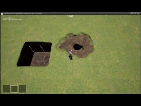 Unreal Engine 4 + Voxel terrain
