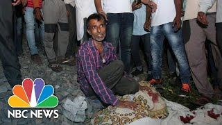 Dozens Killed By Speeding Train In Amritsar, India | NBC News