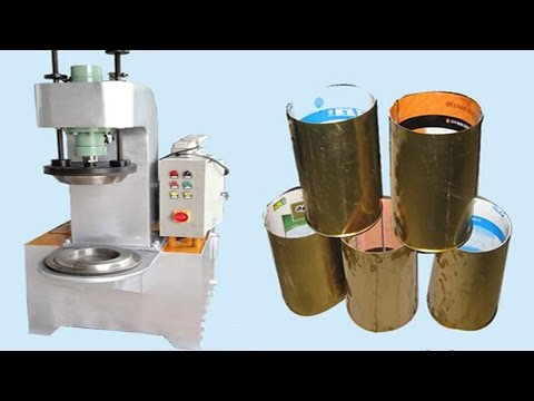 Metal cans tin lids curling beading machine semi automatic pneumatic cans making الهوائية آلة الشباك