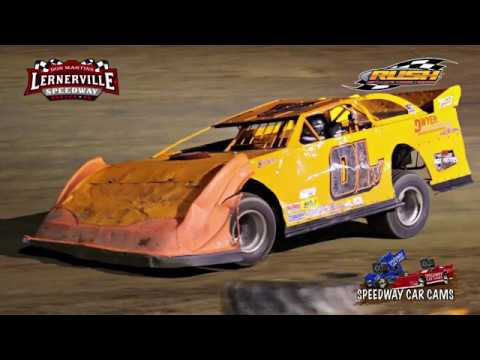 #01W Khole Wanzer - Crate Late Model - 10-14-17 Lernerville Speedway - In Car Camera