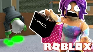 ESCAPE THE ZOMBIE INFECTED MALL | Roblox Obby