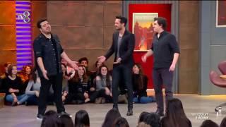 Eser, İbrahim ve Murat Boz'dan Backstreet Boys Dansı  | 3 Adam