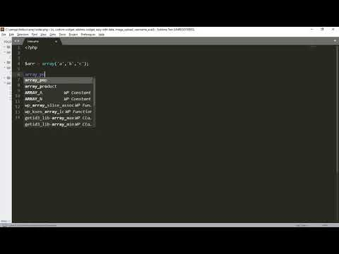 Array Pop In Php