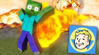 Monster School : Fallout Shelter CHALLENGE - Minecraft Animation