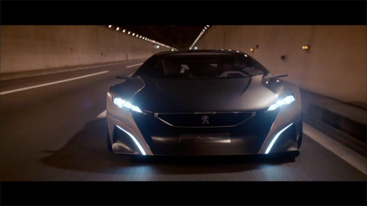Peugeot ONYX Concept (680 Hp V8 HDi) TRAILER [HD]