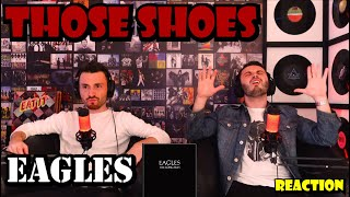 FIRST TIME REACTION To EAGLES - THOSE SHOES | CAUGHT US OFF GUARD!!!