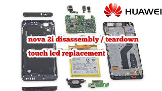 HUAWEI NOVA 2I TOUCH REPLACEMENT DISASSEMBLY /TEARDOWN (LCD DISPLAY CHANGE REPLACEMENT)