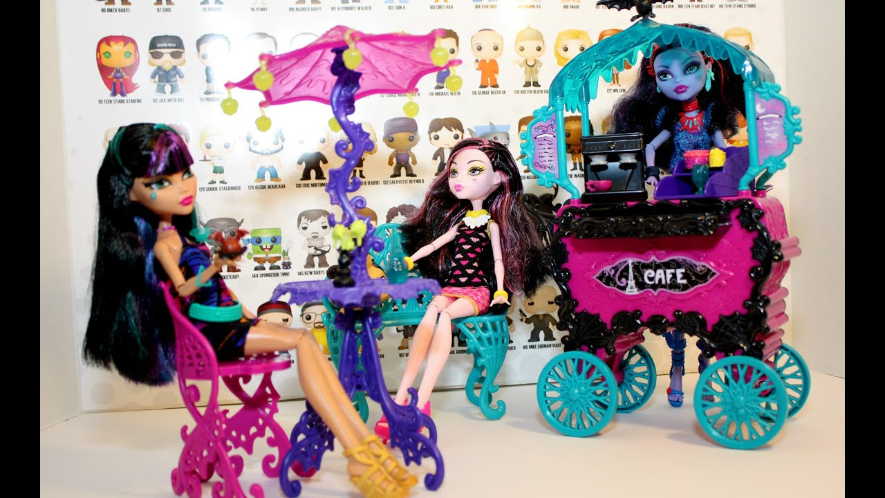 Monster High Scaris City Of Frights Cafe Cart