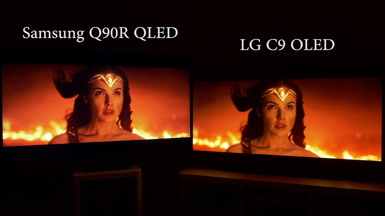 OLED vs QLED 2019 (LG C9 v Samsung Q90R) - YouTube