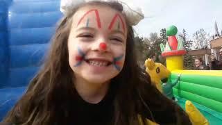 Duru Dev Kaydıraktan Kaydı _Trambolinde Zıpladık _Eğlenceli Çocuk Videosu (23 nisan  gösterileri)